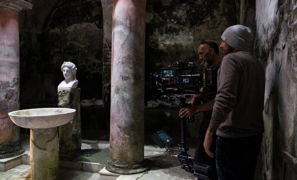 Journey to Herculaneum OberonMedia production Rome